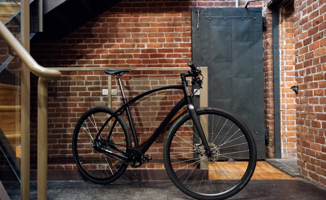 Budnitz Alpha Belt Drive Commuter Bicycle