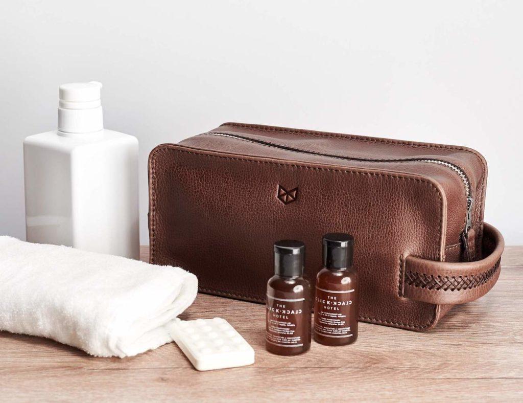 Capra+Leather+Barber+Toiletry+Men%E2%80%99s+Dopp+Kit