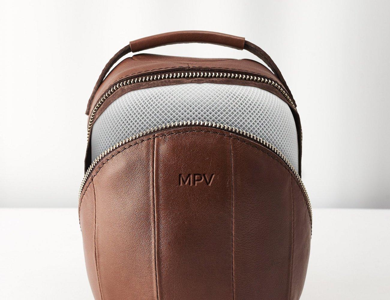 Capra Leather HomePod Travel Case