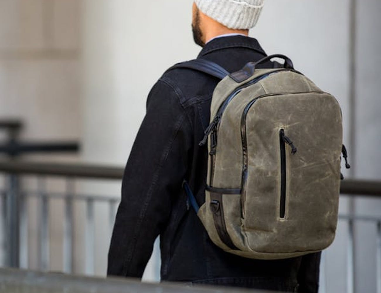 Defy Bucktown Wax Canvas Backpack