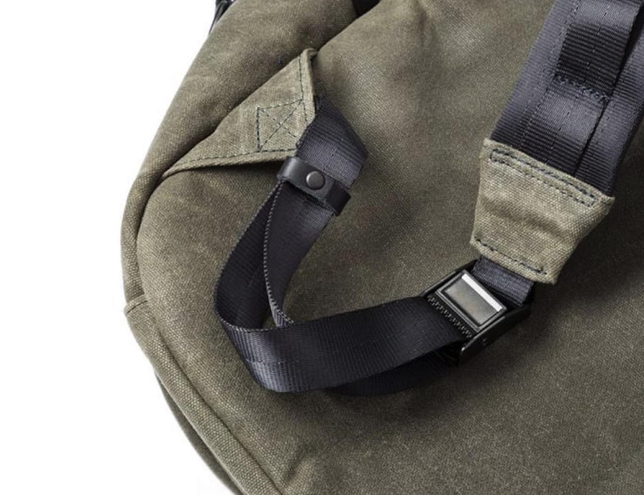 Defy Bucktown Wax Canvas Backpack