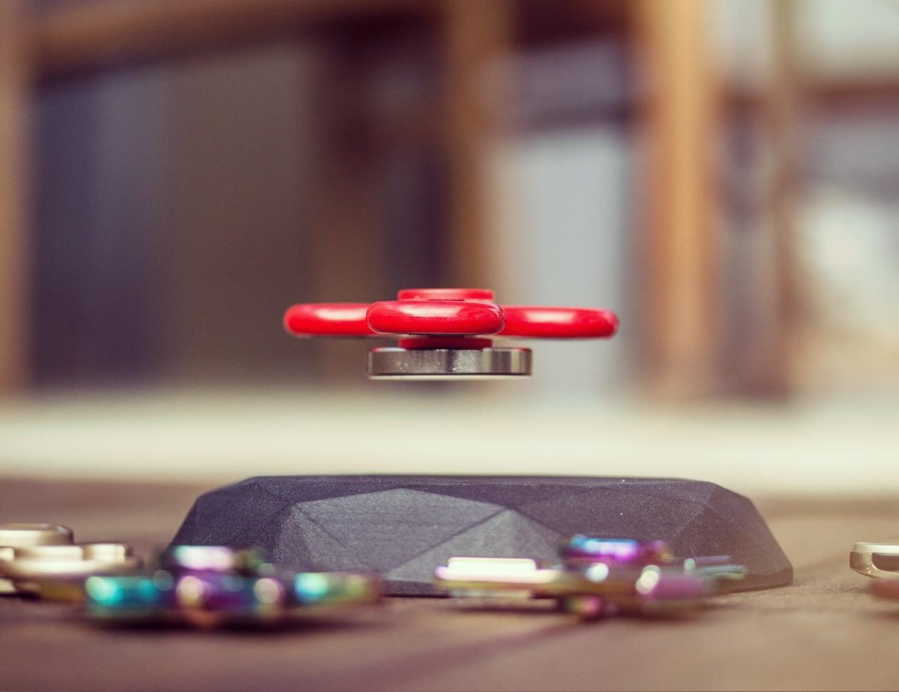 Fidget Spinner Hover Platform