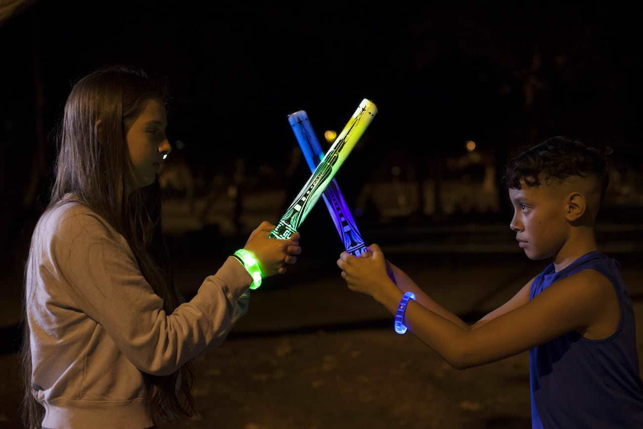 Forget laser tag – Glow Battle is the new game in town