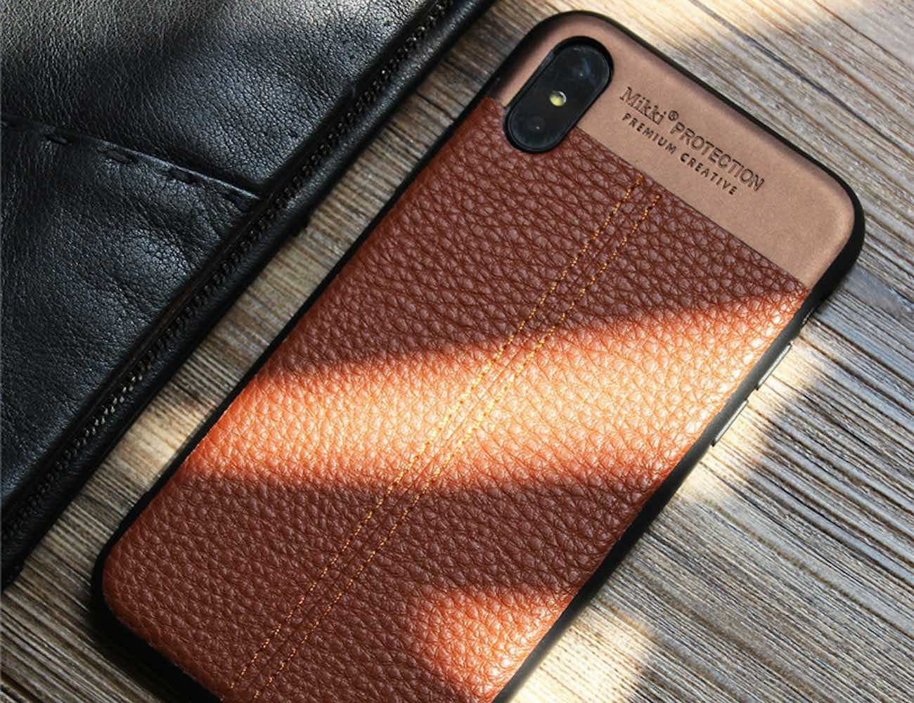 Hand-Stitched iPhone X Case