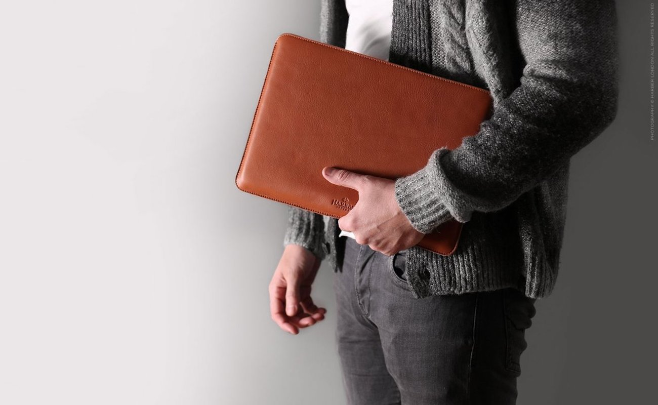 Slim+Leather+Macbook+Sleeve+Case