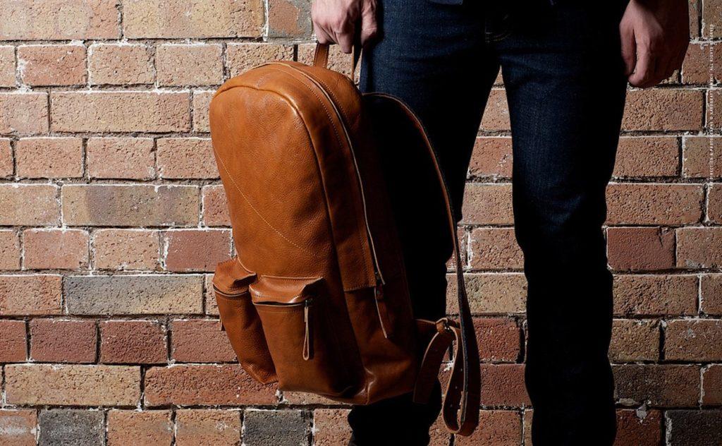 Hard+Graft+Old+School+Leather+Backpack