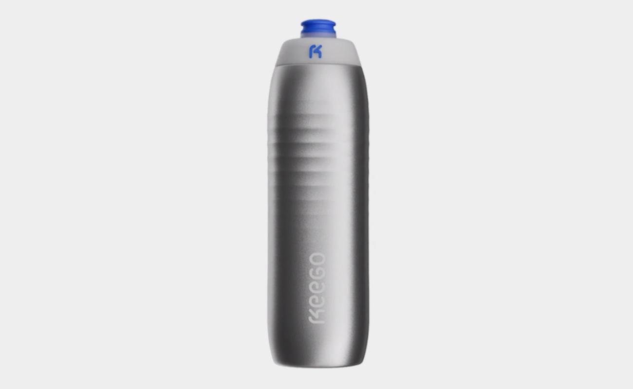 KEEGO Squeezable Metal Water Bottle