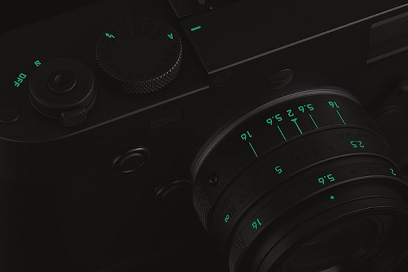 Leica M Monochrom Stealth Edition Camera