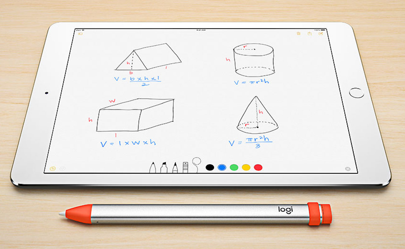 Logitech Crayon iPad Pencil Stylus