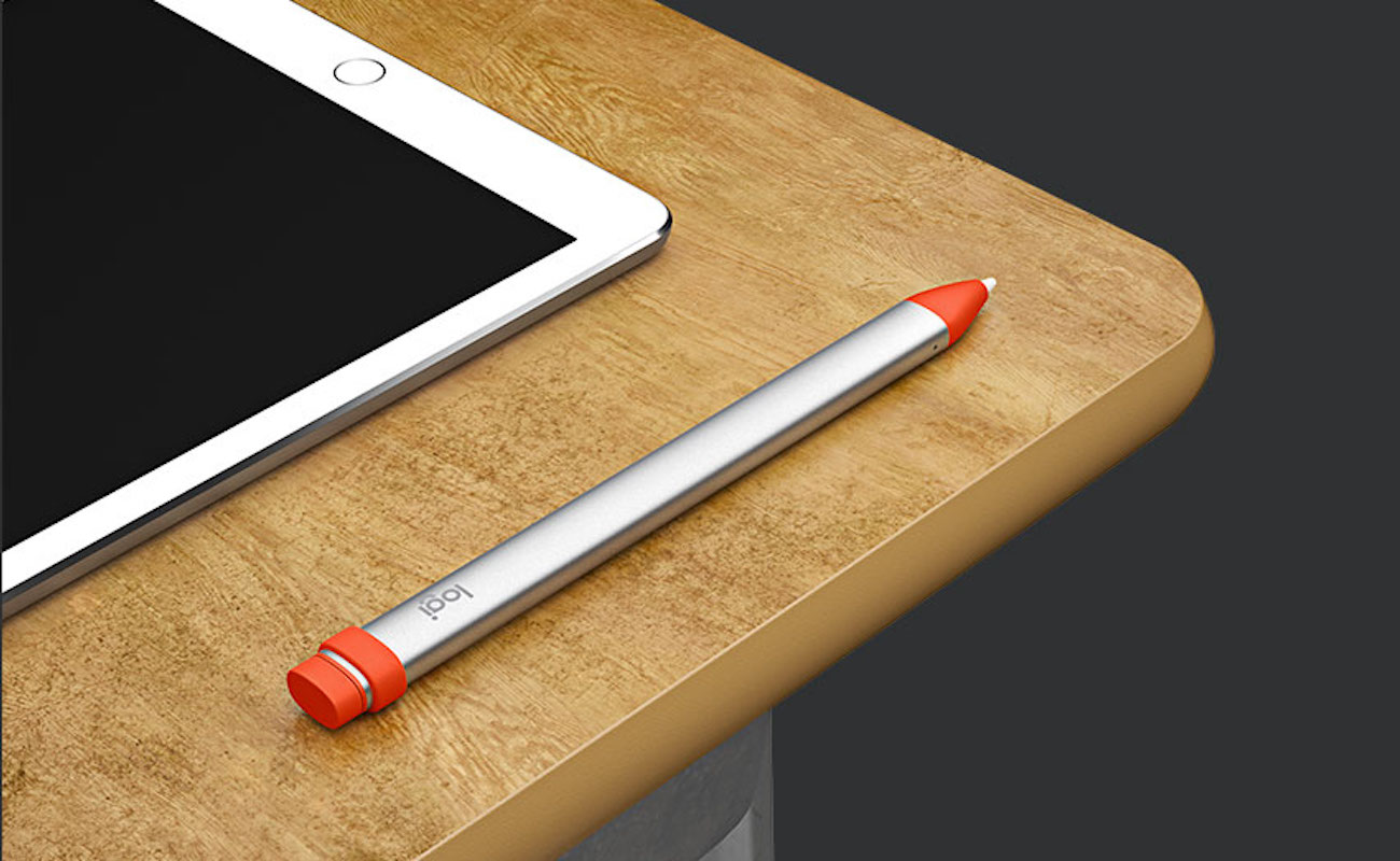 Logitech Crayon for Education iPad Pencil Stylus makes it feel like you're writing on paper