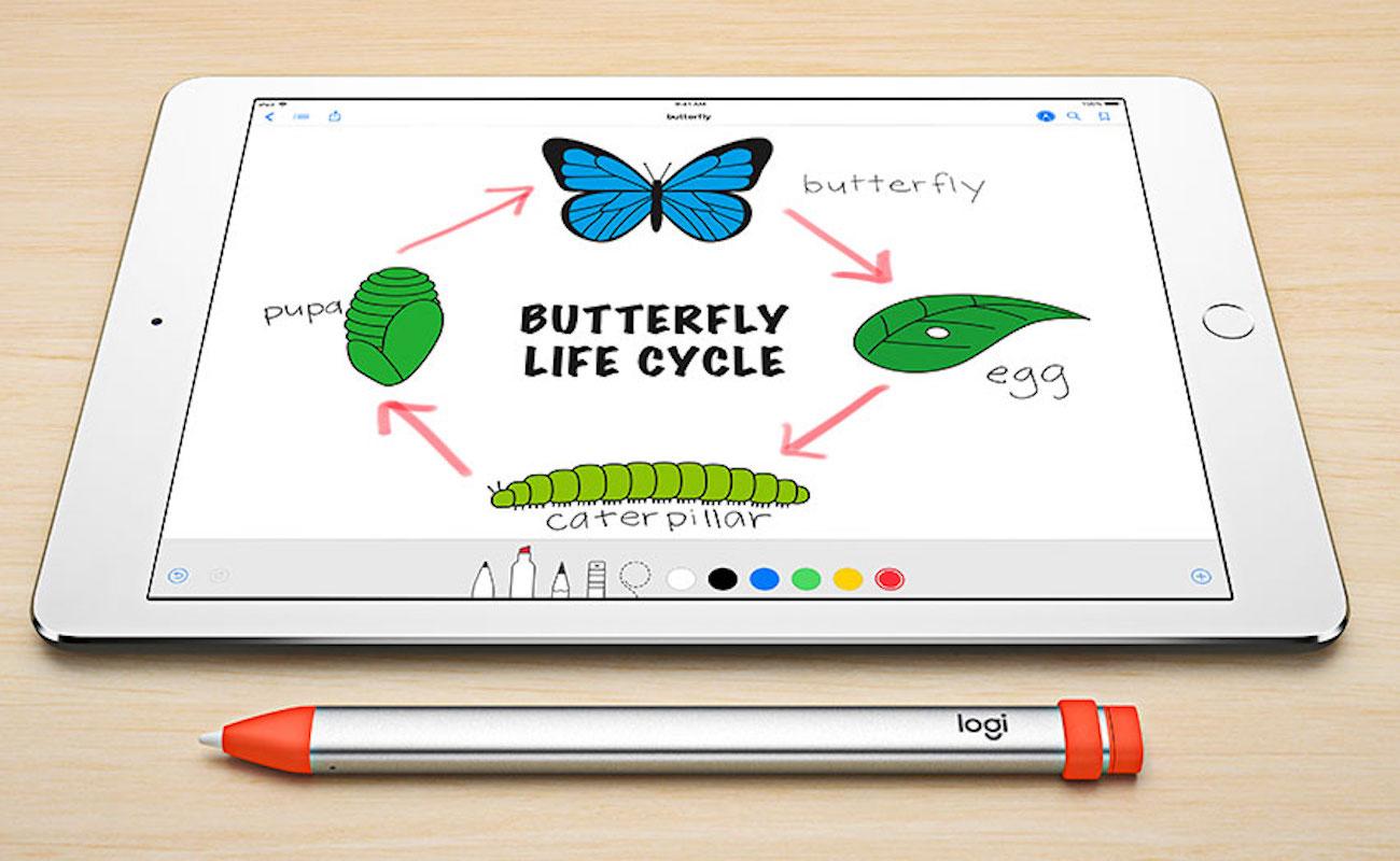Logitech Crayon iPad Pencil Stylus