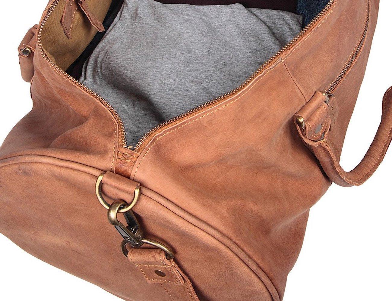 Mahi Leather Classic Duffle Bag