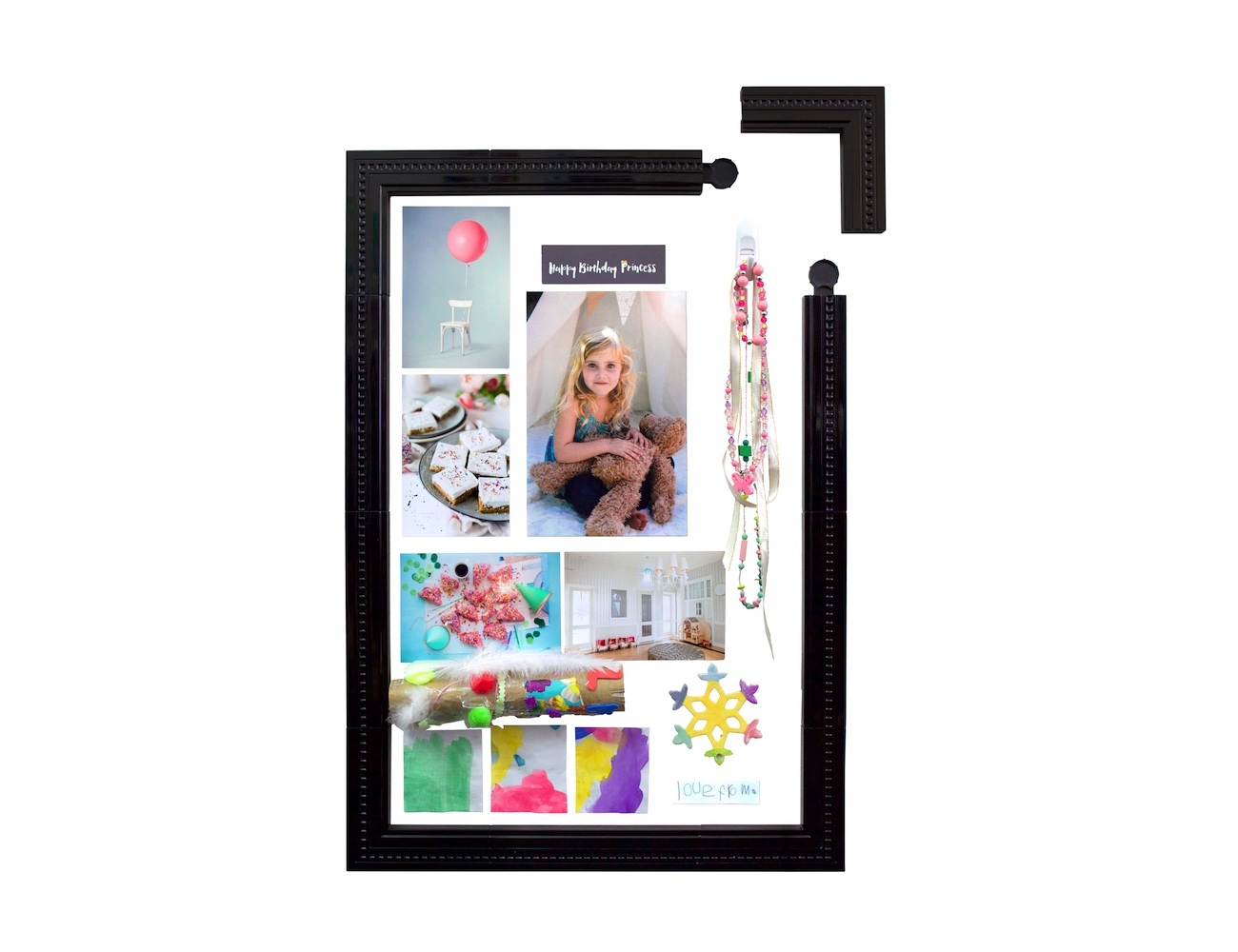 Maik Kids Artwork Modular Wall Frame System