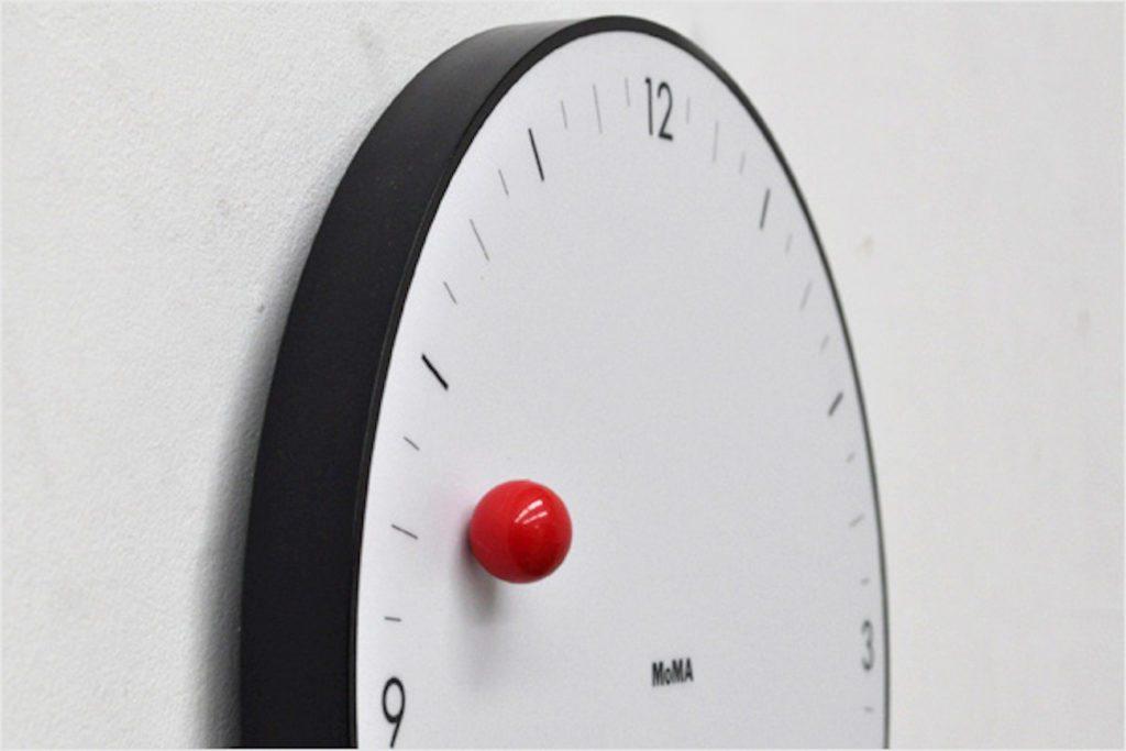 MoMA+Timesphere+Minimalist+Wall+Clock