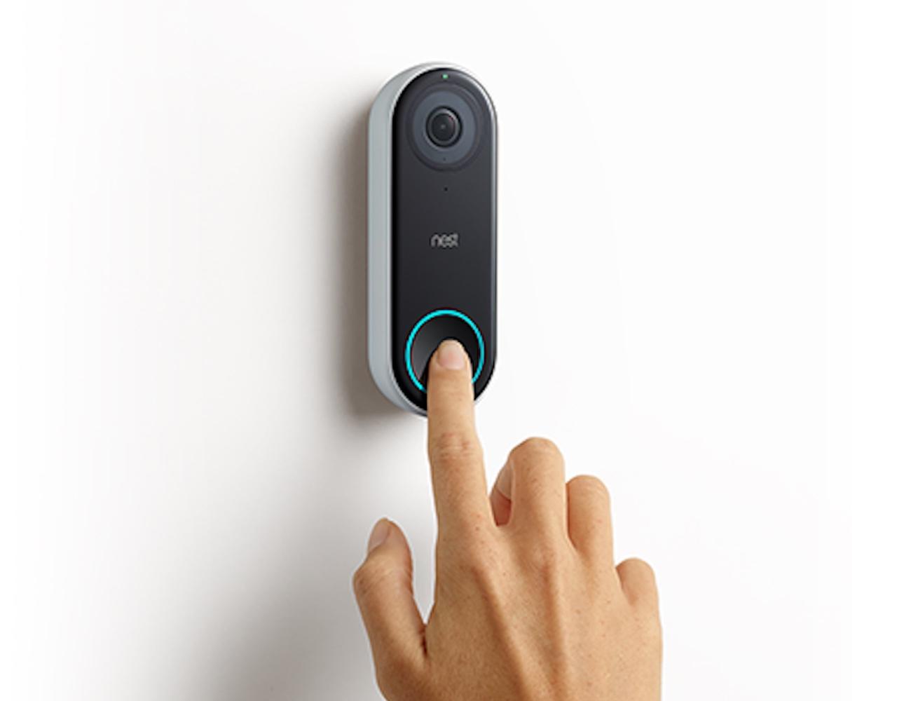 video wireless p the door cameras nickel satin ring depot bell doorbell home