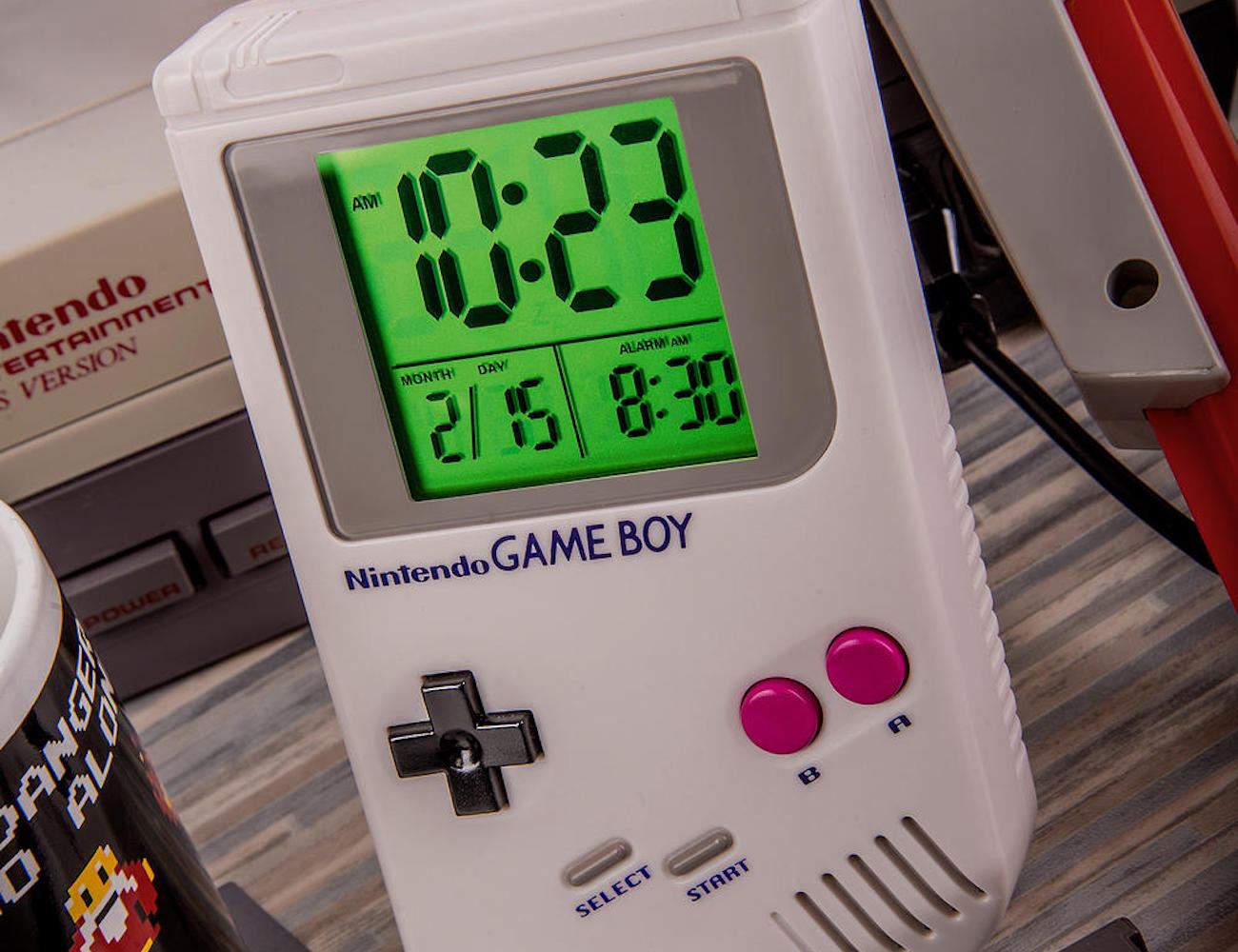 Nintendo Game Over Game Boy Alarm Clock