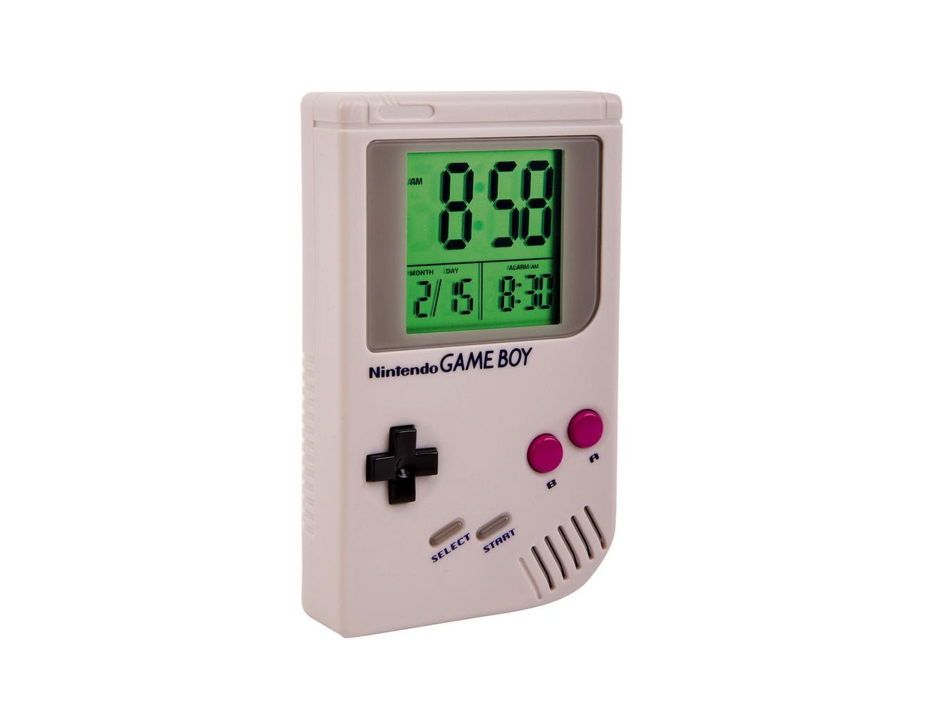 Nintendo Game Over Game Boy Alarm Clock