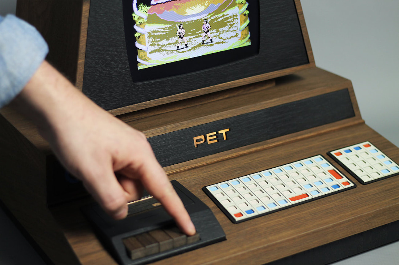 PET De Lux Custom Commodore Computer