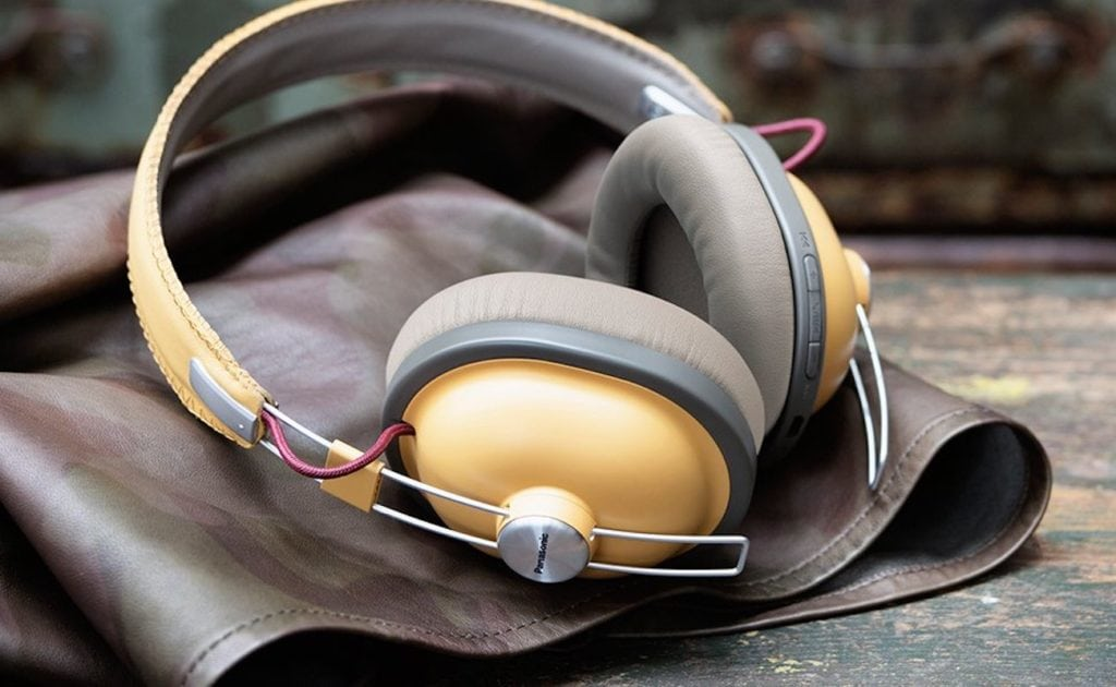 Panasonic+Retro+Over-Ear+Wireless+Headphones