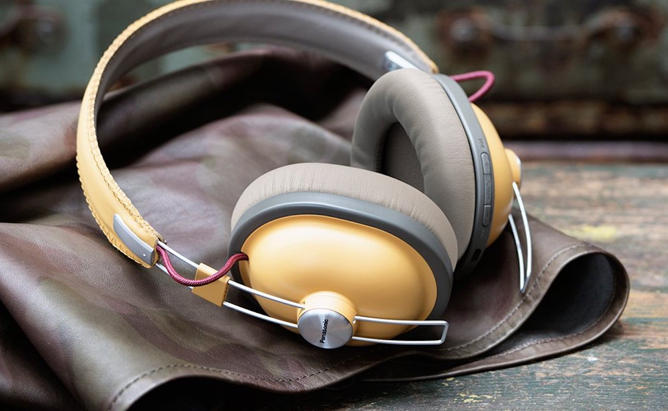 Retro+Over-Ear+Wireless+Headphones