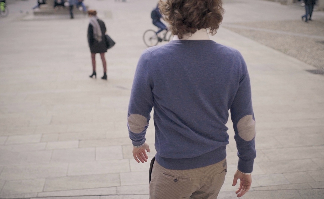 Pantera Bianca Premium Cashmere Sweater