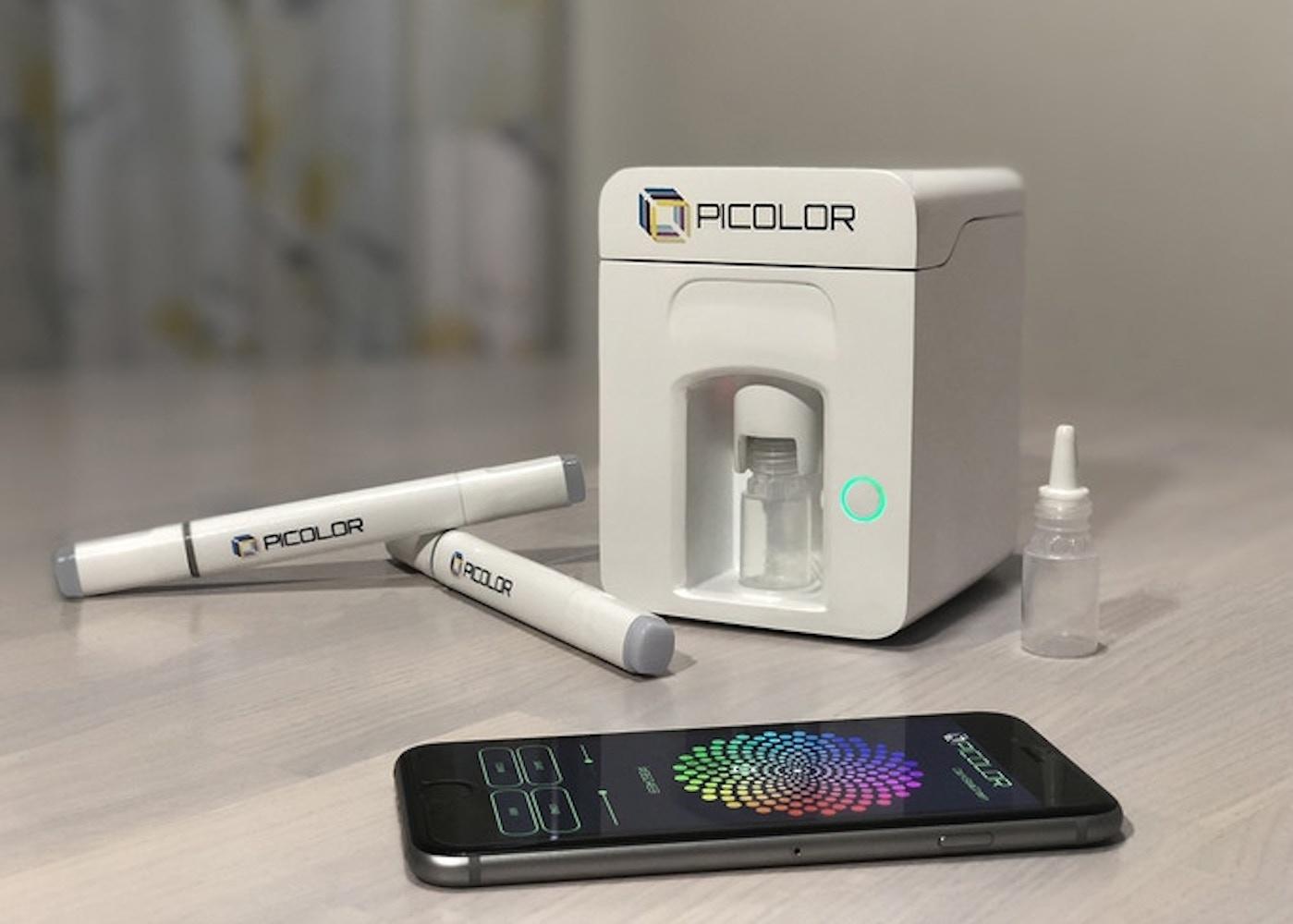 Picolor Paint Mixing Device