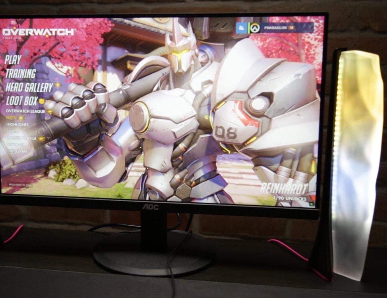 Pink Basilisk Gaming Light System
