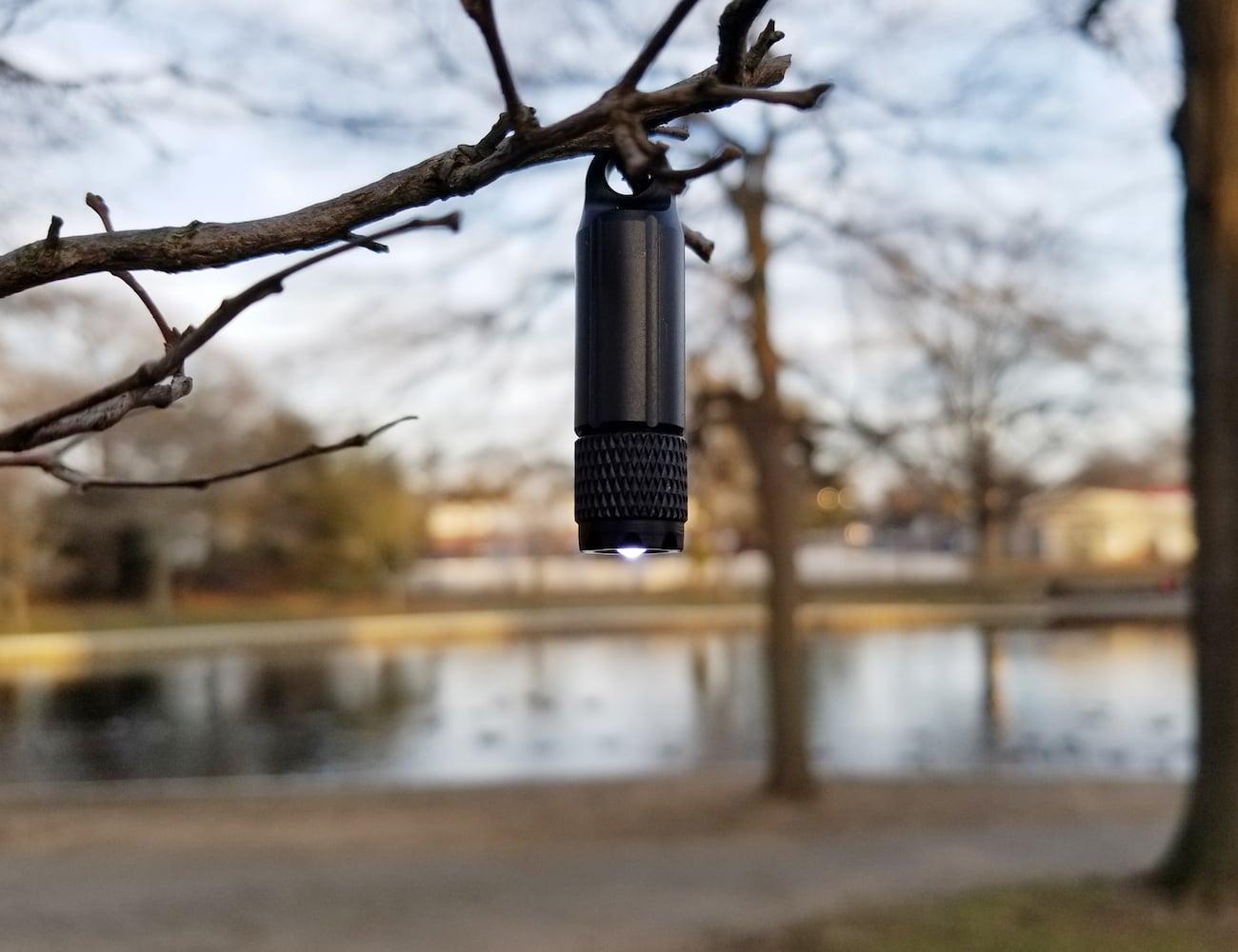 PocketLumen Keychain Flashlight