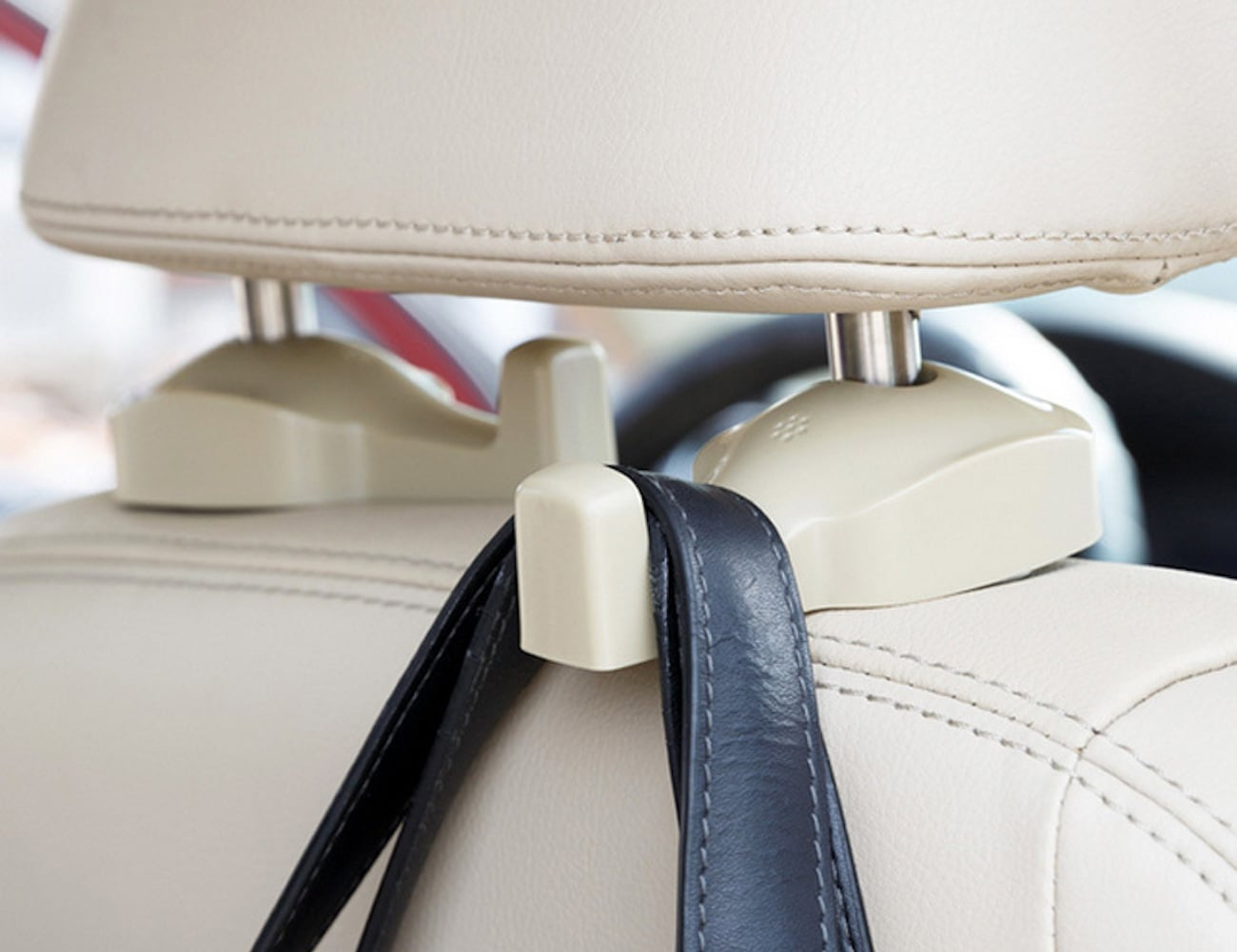 Car seat hook up