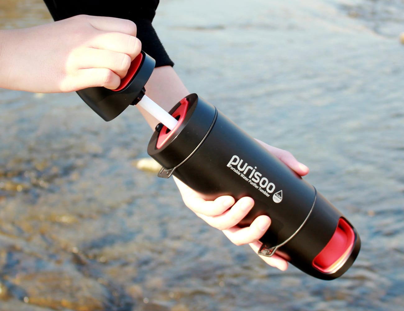 Purisoo Portable Water Purifier Bottle