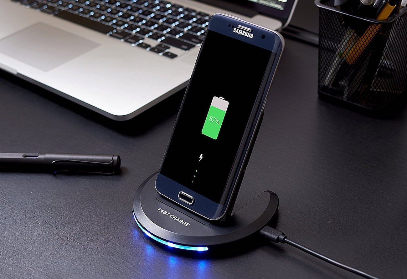 Qi-Infinity 2-Coils Fast Wireless Folding Charger