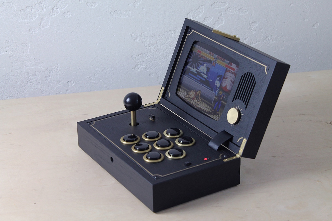 Wooden+Portable+Game+System