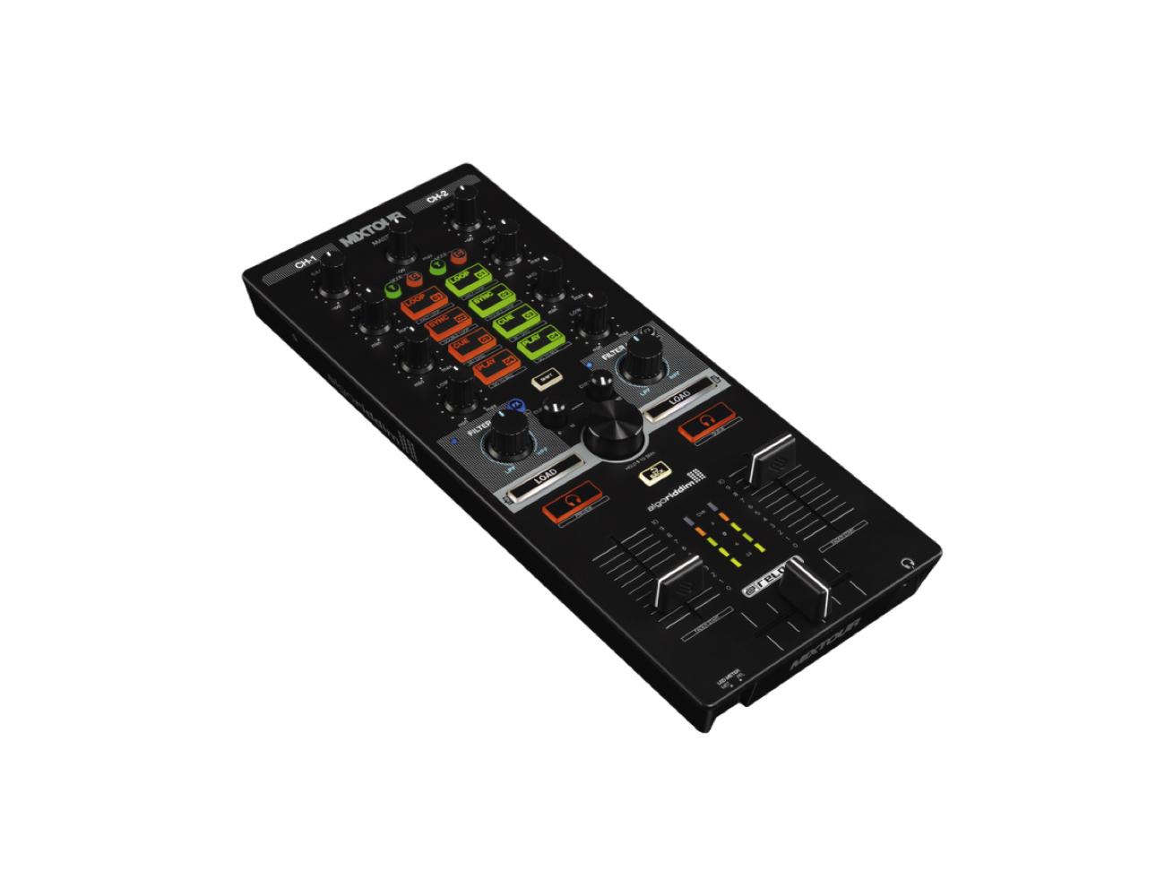 Reloop Mixtour Portable Cross-Platform DJ Controller