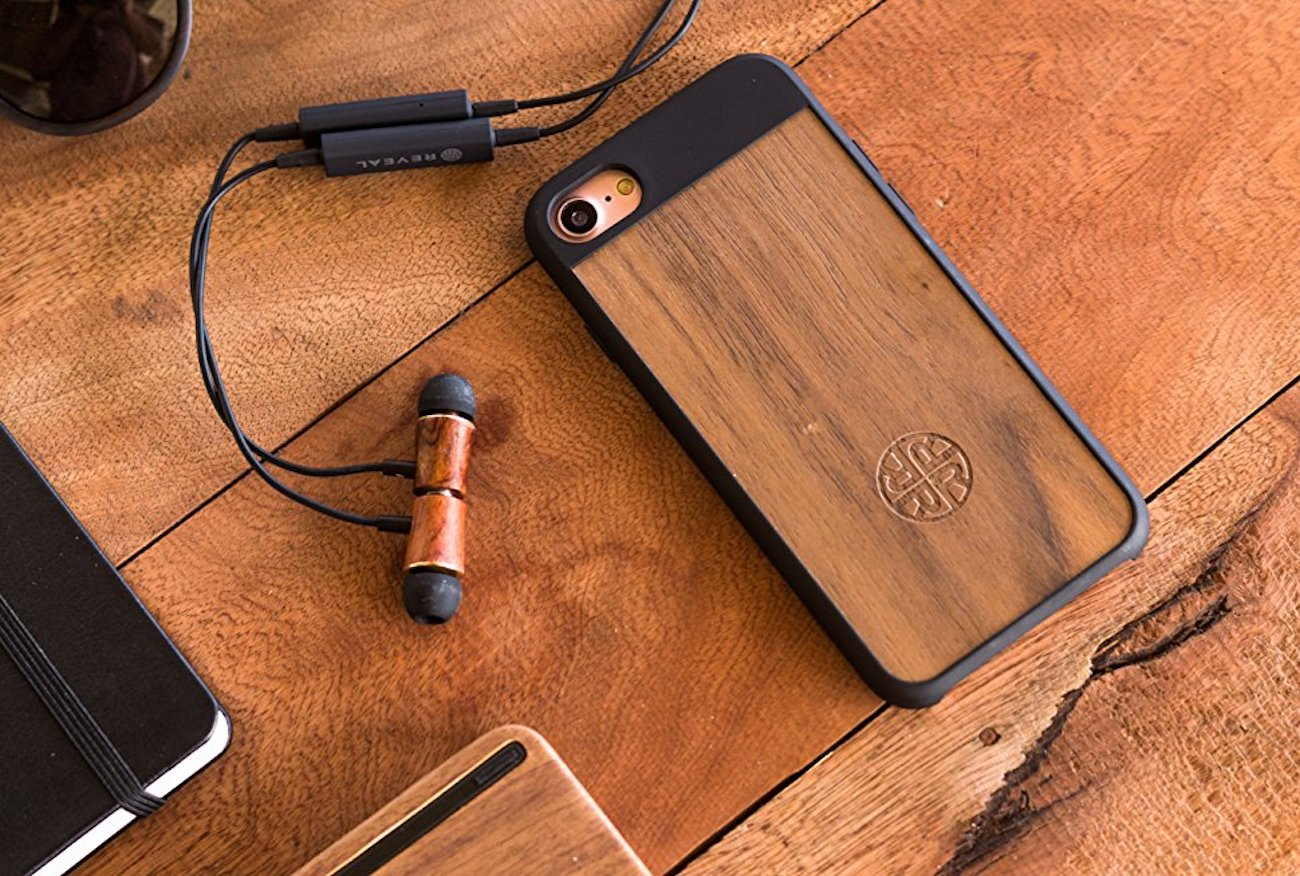 Reveal Magnetic Wood Bluetooth Earbuds