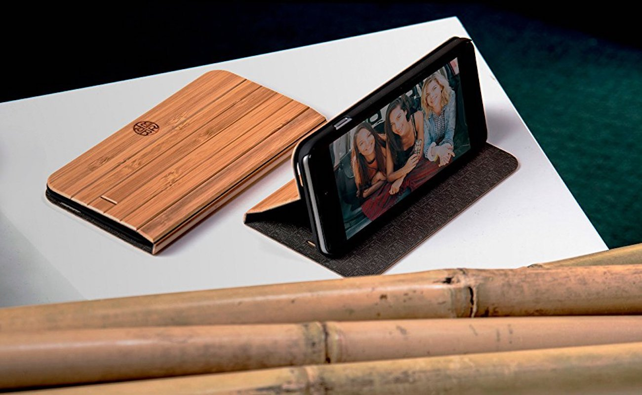 Wooden+iPhone+Folio+Case