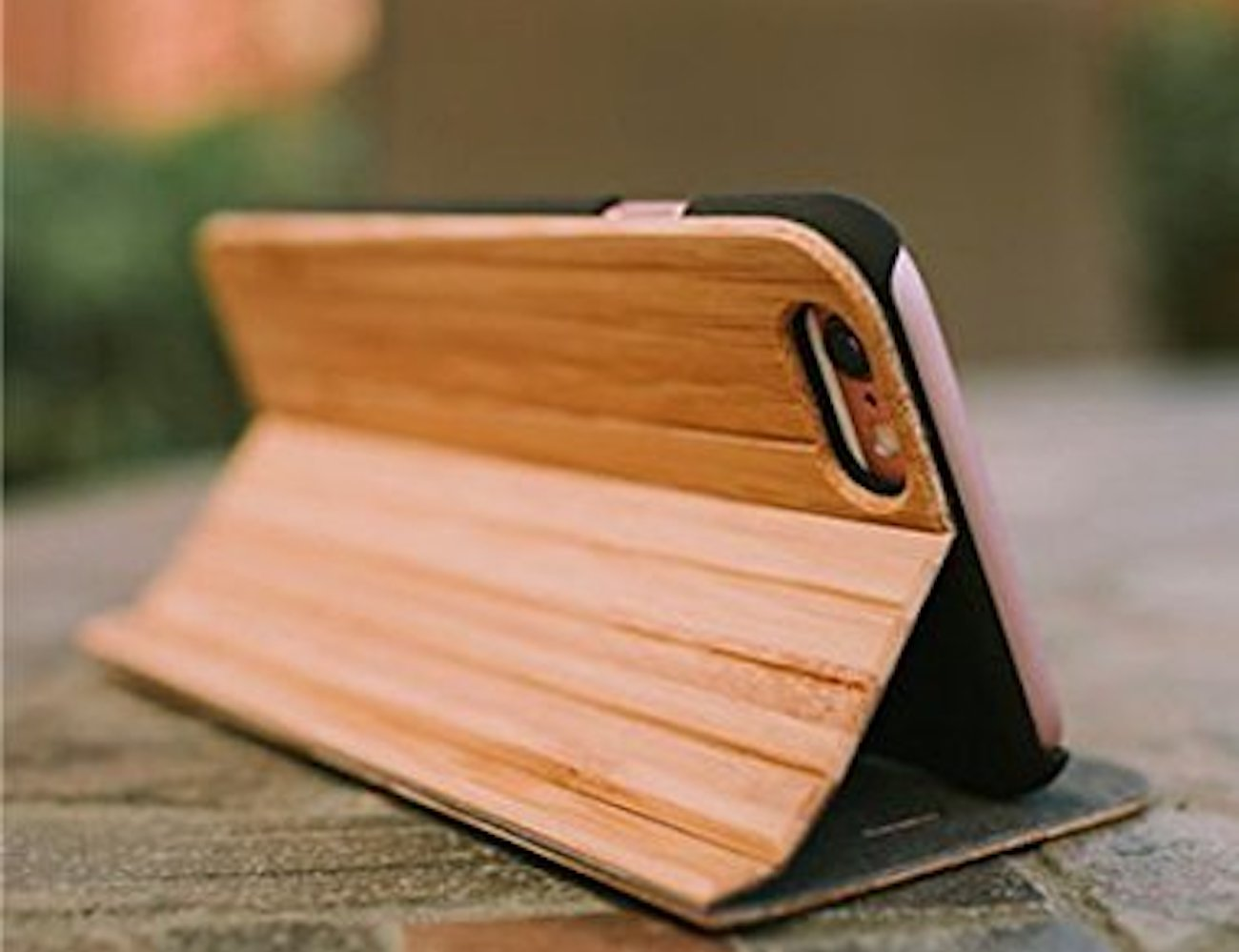 Reveal Wooden iPhone Folio Case