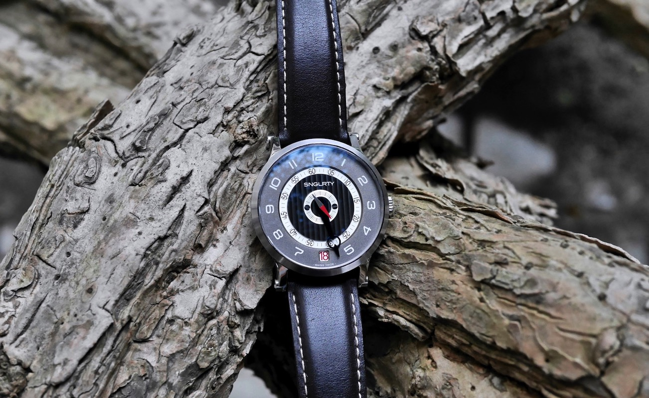 SNGLRTY Swiss Single Hand Watch