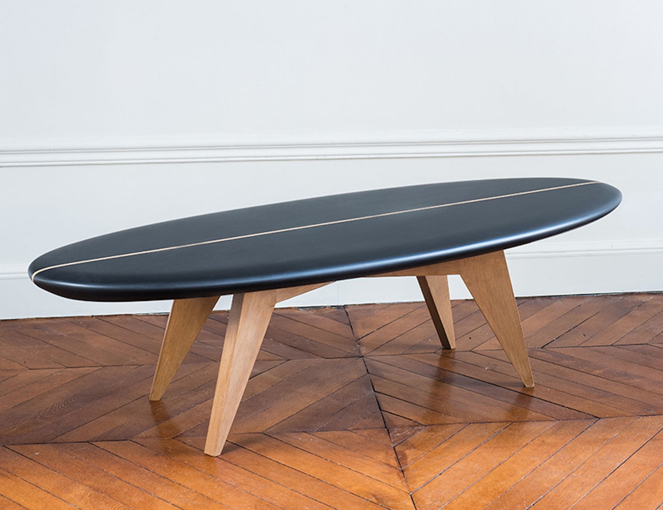 salty design bolge 60 surfboard coffee table » gadget flow Surfboard Coffee Table