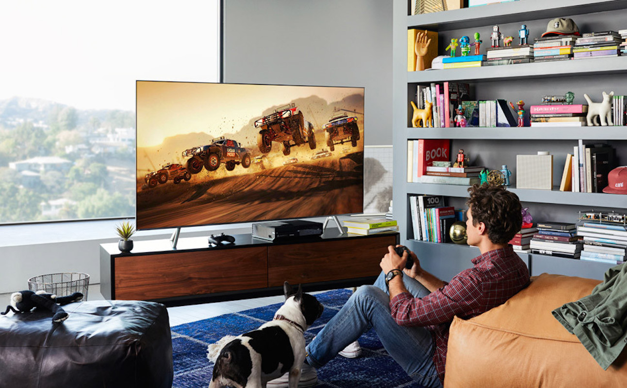 samsung qled 4k televisions 2018 gadget flow. Black Bedroom Furniture Sets. Home Design Ideas
