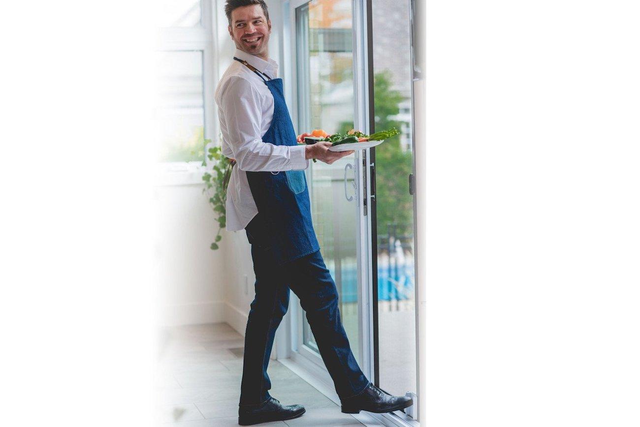 Smart Slider Hands-Free Patio Door Opener