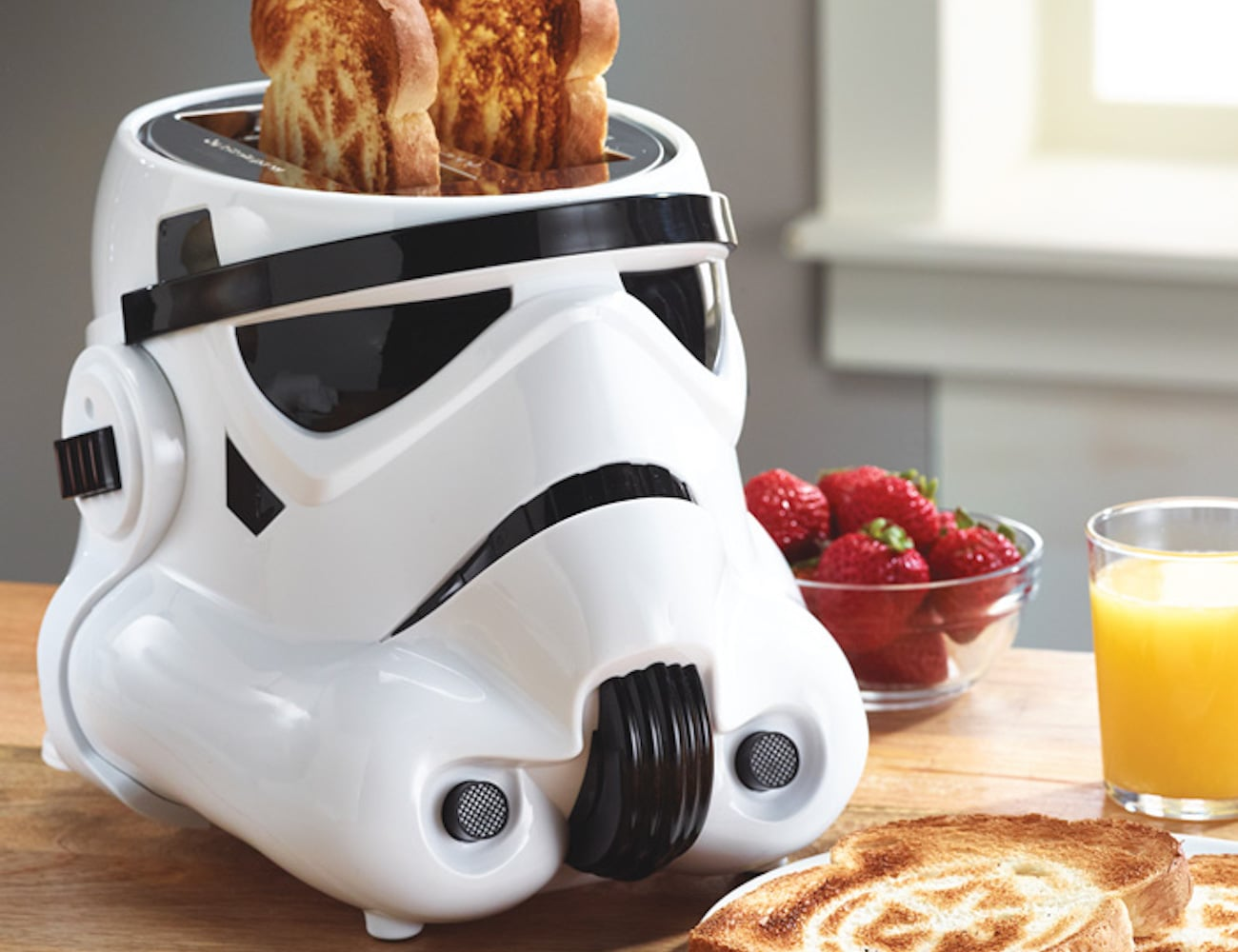 Star Wars Two Slice Stormtrooper Toaster