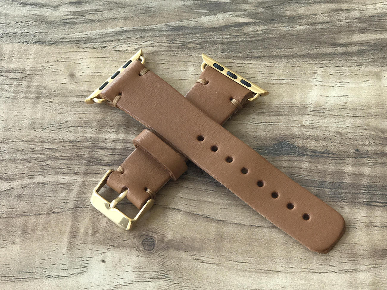 TexansWatchbands Leather Apple Watch Band