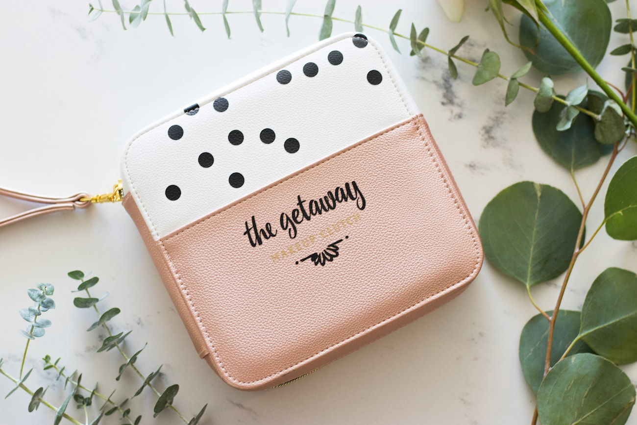 The Getaway Compact Makeup Clutch