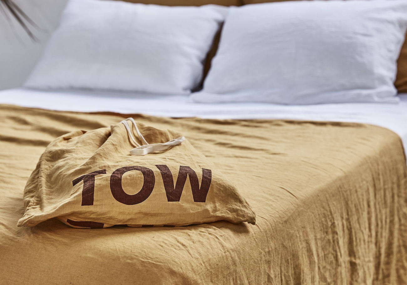Tow and Line French Linen Bedding