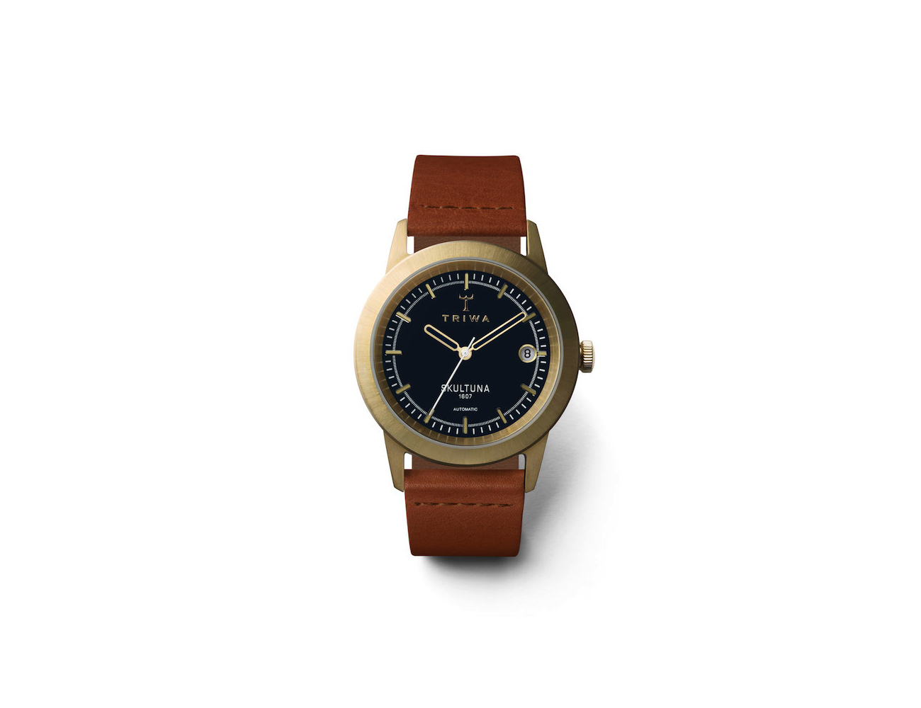 Triwa X Skultuna III Brass Watches
