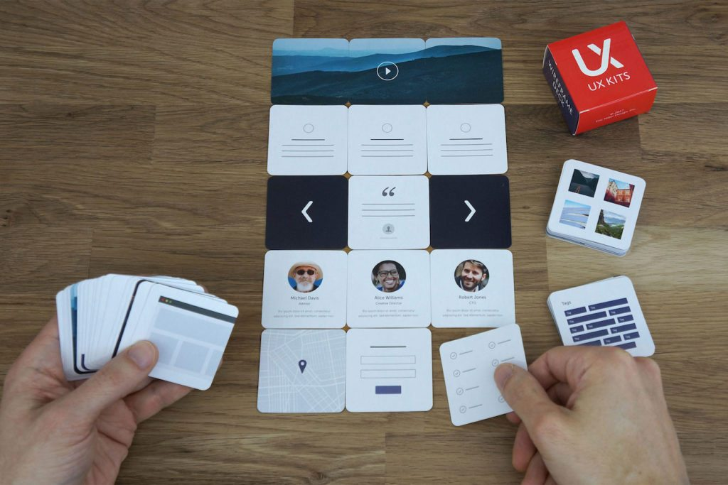 UX+Kits+Wireframe+Card+Deck