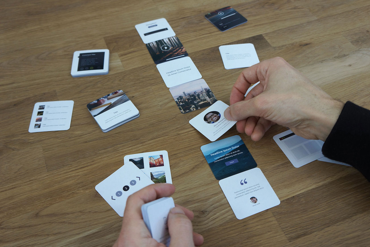 UX Kits Wireframe Card Deck