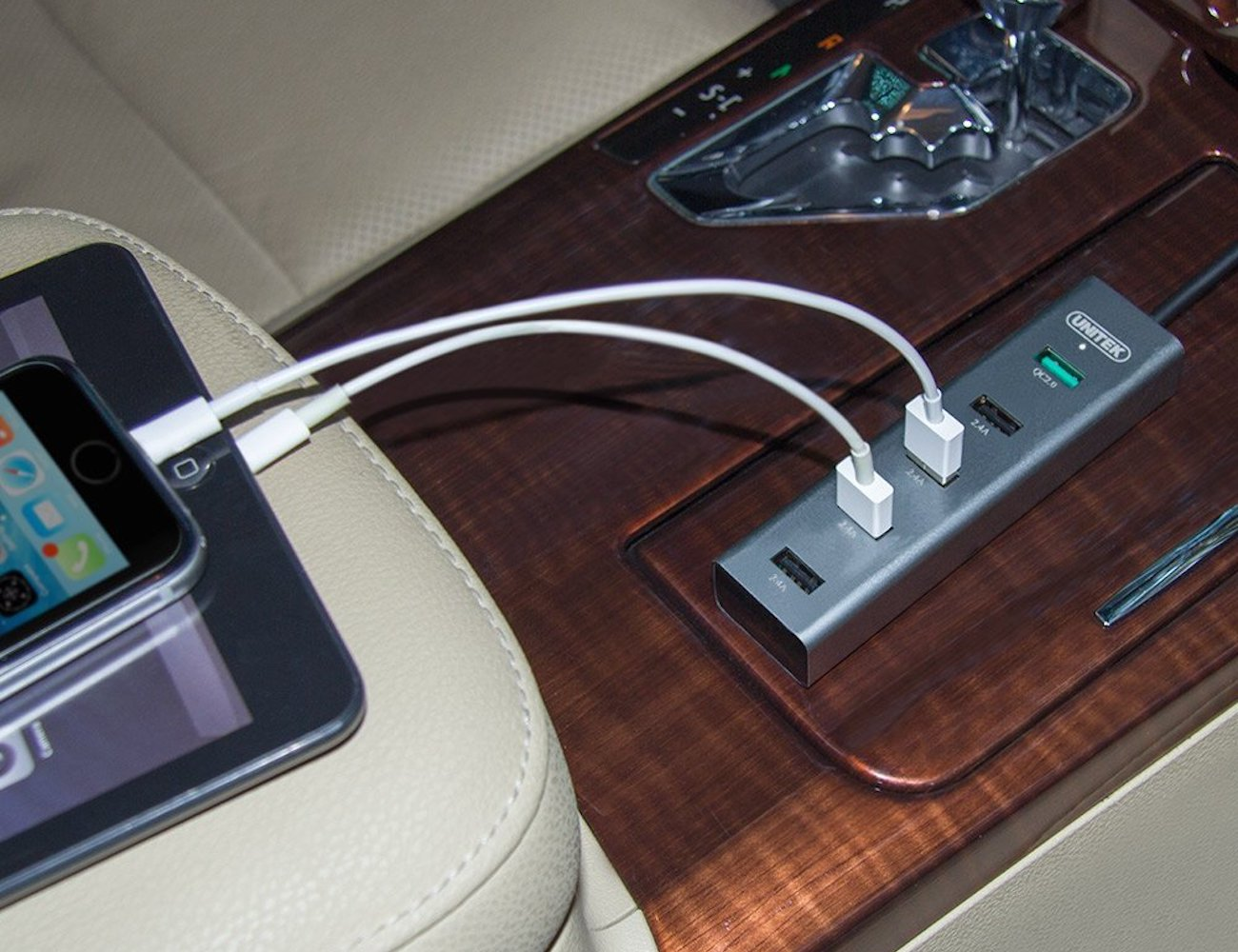 Unitek 5 Port USB Car Charger