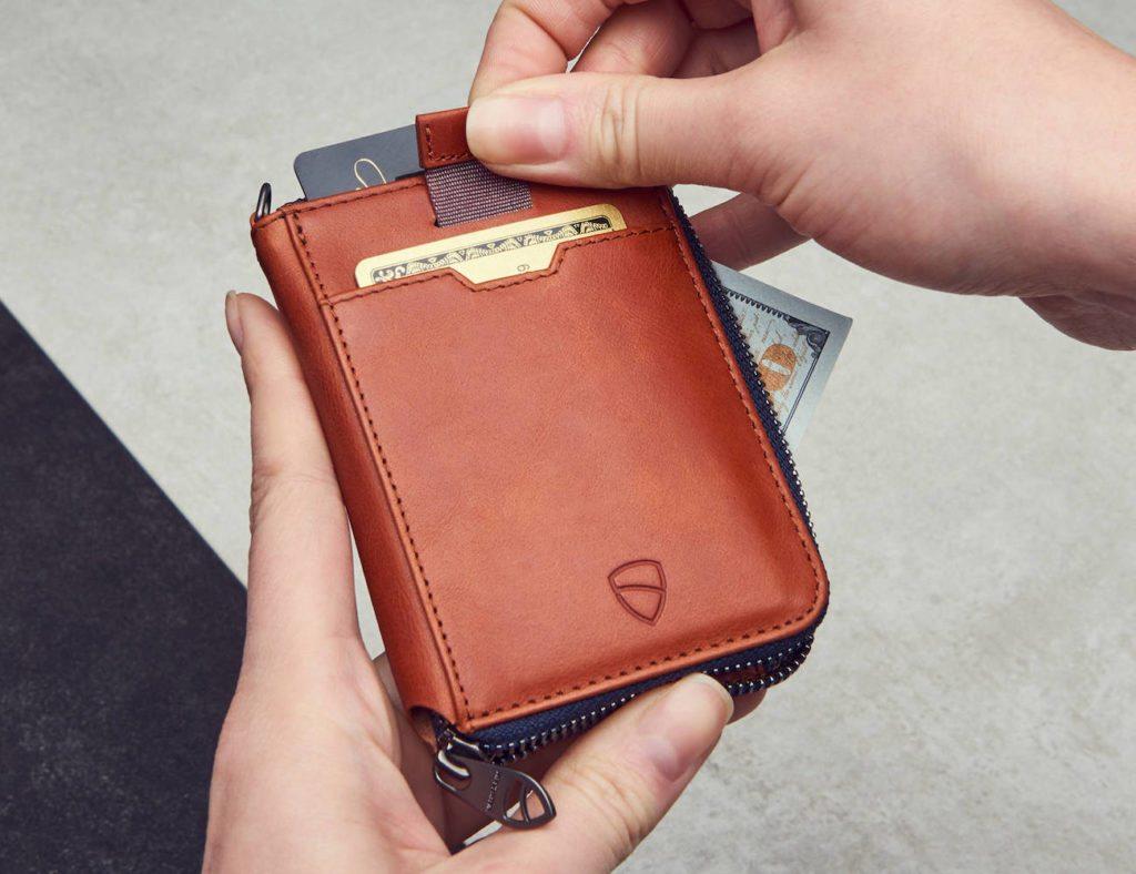 Vaultskin+Notting+Hill+Slim+Zip+Wallet