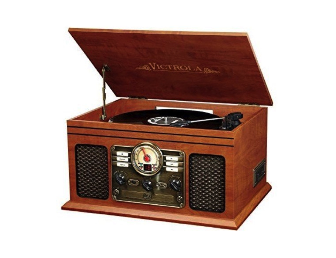 Victrola 6-in-1 Nostalgic Bluetooth Record Player